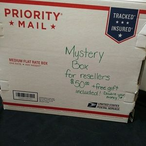 Mystery box for reselling